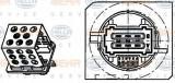 Rezistor, ventilator habitaclu PEUGEOT 206 hatchback 1.4 i - HELLA 9ML 351 332-261