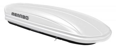 Cutie portbagaj Menabo Mania 400 ABS White, 165x79x37 foto