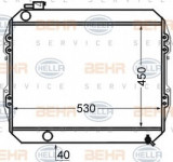 Radiator, racire motor VW TARO 2.4 D - HELLA 8MK 376 726-651