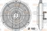 Cupla, ventilator radiator MERCEDES-BENZ M-CLASS ML 320 - HELLA 8MV 376 731-491