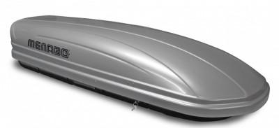 Cutie portbagaj Menabo Mania 460 ABS Silver, 198x79x37cm foto