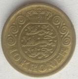 Regatul Danemarcei - 10 Kroner 1995