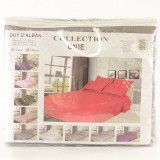 Set Lenjerie de pat din 5 piese pentru 2 persoane GUY D'ALBAN, gri, ID980, 230x250 cm
