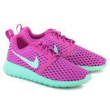 Pantofi Copii Nike Roshe One Flight Weight 705486502, 37.5, 38, 38.5, Albastru