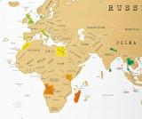 Harta razuibila World