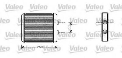 Schimbator caldura, incalzire habitaclu OPEL ASTRA F CLASSIC hatchback 1.6 i - VALEO 812284 foto
