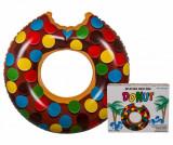 Colac pentru inot Donut Brown