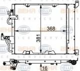 Condensator, climatizare OPEL ASTRA H 1.7 CDTI - HELLA 8FC 351 301-754
