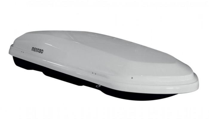 Cutie portbagaj Menabo Diamond 500 White, 209x79x36.6cm