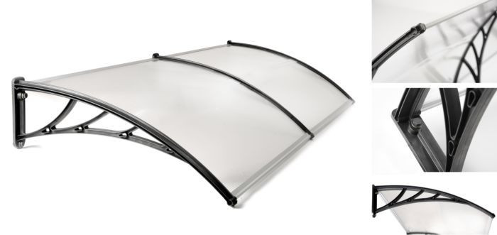 Marchiza/ Copertina metalica ?i policarbonat 80 x 300 cm, ID869
