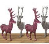 Set 4 decoratiuni Josa Deer