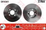 Disc frana DACIA LOGAN 1.4 MPI LPG - TRW DF4381
