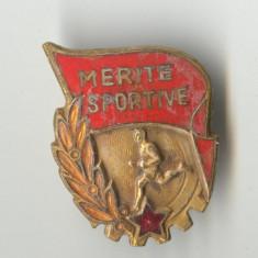 MERITE SPORTIVE - EVIDENTIAT  -  1960  - Insigna RPR