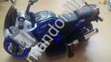 Motocicleta cu led pe rotie ,mp3 ,stick /2-5 ani