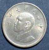 Taiwan 1 yuan 1981 UNC, Asia