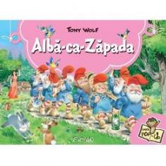 Alba-ca-Zapada. Carte Pop-up - Tony Wolf