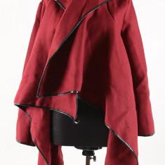 Palton de dama,Culoare Rosu, Marimea S, ID1113