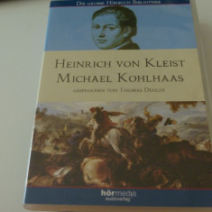 Heinrich von Kleist - Michael Kohlhaas -  4 audio cd