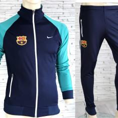Trening BARCELONA - Bluza si pantaloni conici - Modele noi - Pret Special 1268, S, XXL, Din imagine