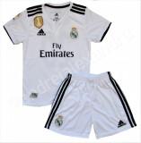 Compleu Echipament Fotbal Real MADRID ISCO ASENSIO 2018-2019  pt. copii 5-15 ani, YL, YM, YS, YXL, YXS, YXXL, Tricou + Pantalon