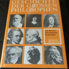 Geschichte der grossen Philosophen