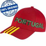 Sapca Adidas Portugalia - sapca originala, Marime universala, Rosu