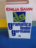 EMILIA SAVIN - GRAMATICA LIMBII GERMANE - 1995