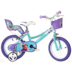 Bicicleta Frozen 16 Inch, Dino Bikes