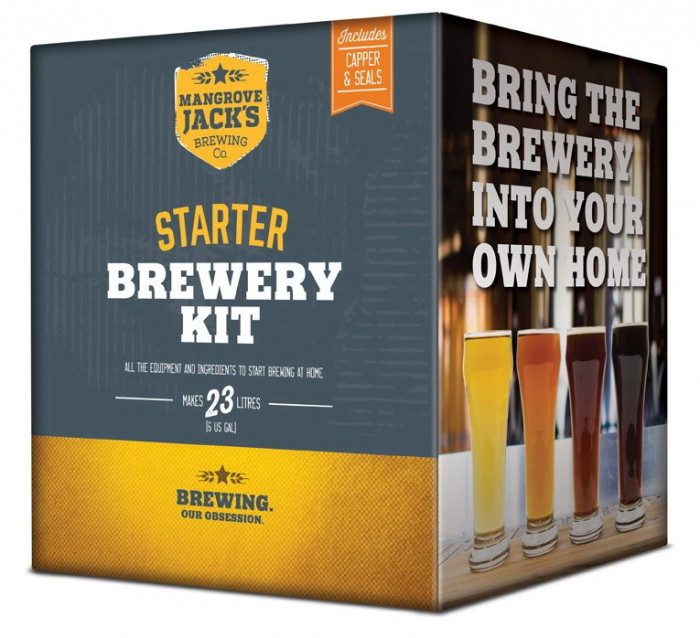 Mangrove Jack's Starter Brewery Kit - set complet pentru bere de casa