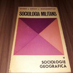 SOCIOLOGIE GEOGRAFICA 1973