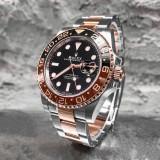 Rolex GMT - Master II Rose Gold Bicolor, Automatic ETA SWISS !!!, Mecanic-Automatic