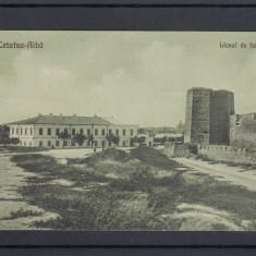 MOLDOVA  BASARABIA  CETATEA ALBA   LICEUL  DE FETE