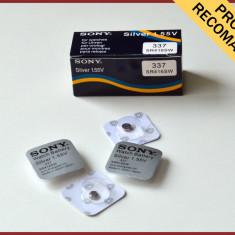 10 Baterii SONY 337 originale baterie SR416SW pentru casca japoneza, Sony Xperia L, Li-ion