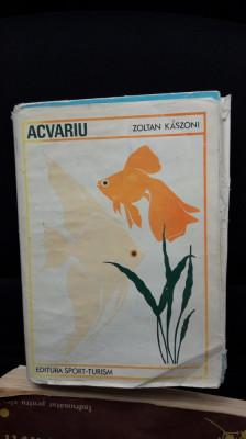 Acvariu -  ZOLTAN KASZONI , STARE FOARTE BUNA . foto