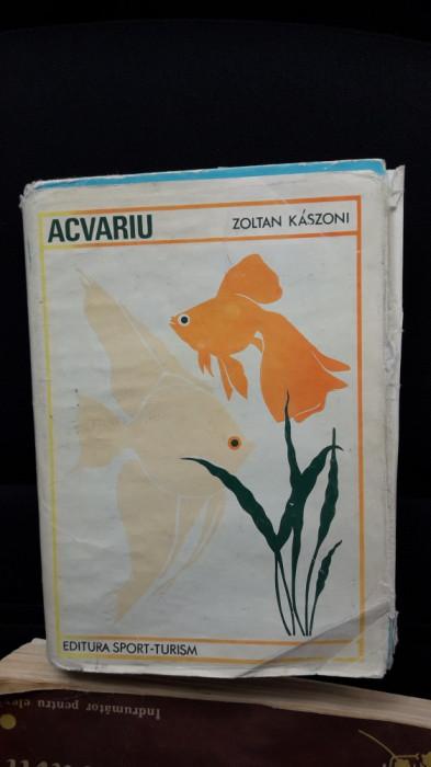 Acvariu -  ZOLTAN KASZONI , STARE FOARTE BUNA .