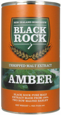 Black Rock extract de malt Amber - pentru bere de casa foto