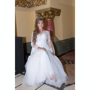 rochie de mireasa sirena marimea S-M