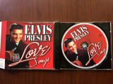 Elvis presley love songs cd disc compilatie hituri muzica pop usoara roton music