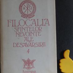 Filocalia sfintelor nevointe ale desavarsirii vol IV Dumitru Staniloaie