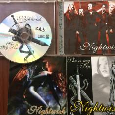 nightwish she is my sin best of compilatie cd disc muzica symphonic heavy metal