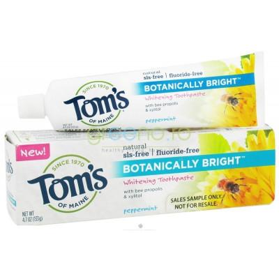 Pasta de Dinti fara Fluor – Tom's Of Maine – Botanically Bright – 133gr foto