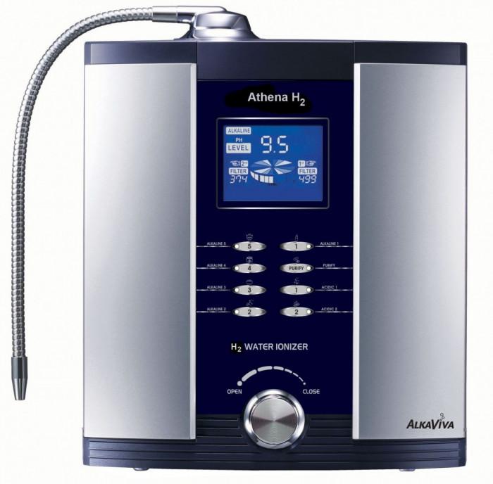 PREMIUM purificator- 2 filtre -ionizator apa hidrogen AlkaViva Athena H2