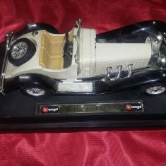 Masina de epoca MERCEDES BENZ,macheta vintage masina retro de colectie,T.GRATUIT