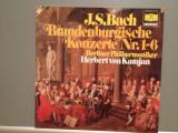 BACH – BRANDENBURG CONCERTOS no 1-6 – 2LP SET (1975/POLYDOR/RFG) - VINIL/ca Nou, Deutsche Grammophon