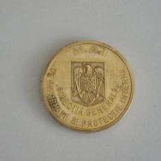 BREFC4 - EFIGIE MILITARA - MONOCROMA - POLITIA ROMANA