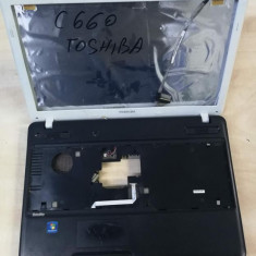 Dezmembrez laptop TOSHIBA C660 piese componente carcasa