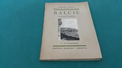 BALCIC*ORAȘE ȘI LOCURI DE ARTĂ ROMÂNEȘTI*CU 25 REPRODUCERI/ EMANOIL BUCUȚA/1931 foto