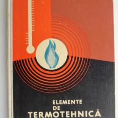 Elemente de termotehnica - Gh. Istrate