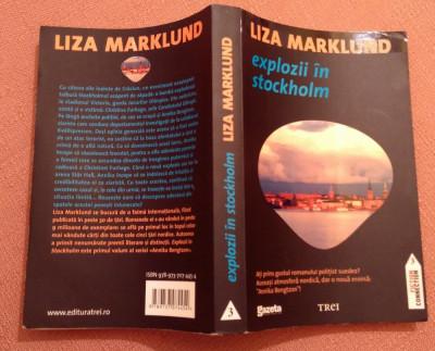 Explozii In Stockholm - Liza Marklund foto
