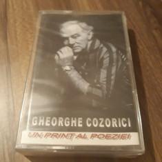 CASETA AUDIO GHEORGHE COZORICI-UN PRINT AL POEZIEI ORIGINALA SIGILATA, Casete audio